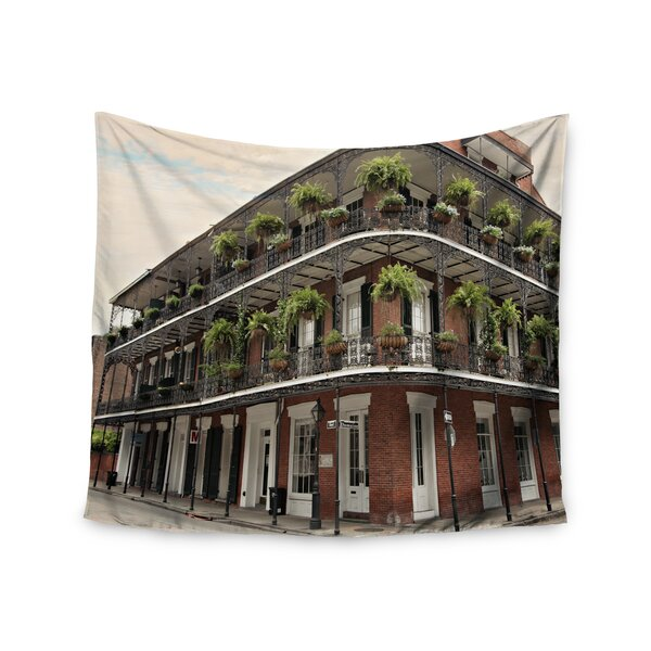 New Orleans Street Corner by Sylvia Cook Wall Tapestry by East Urban Home