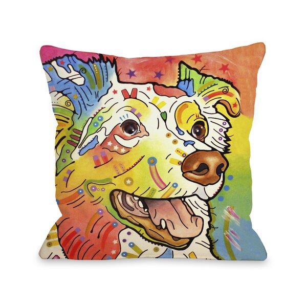 Doggy Décor Dakota Throw Pillow by One Bella Casa