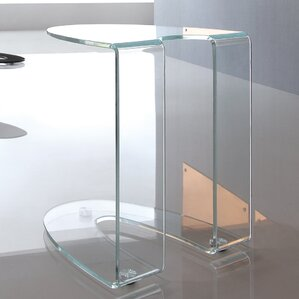 Boese Glass End Table by O..