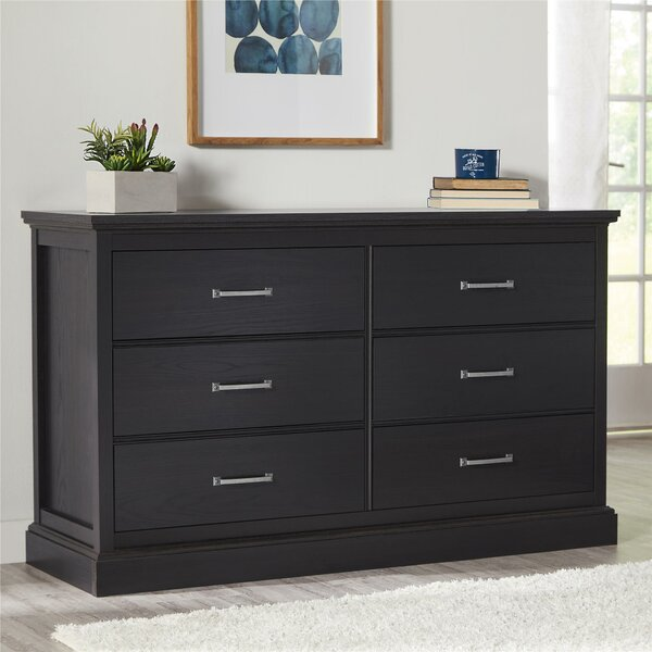 Caden 6 Drawer Double Dresser by Charlton Home