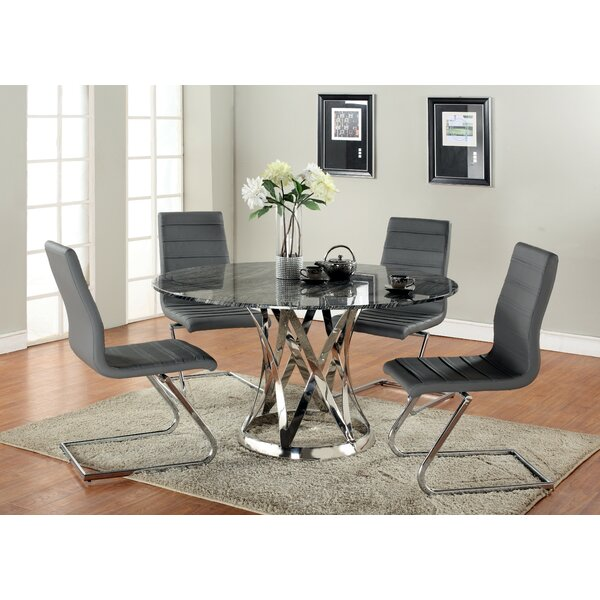 Elkin 5 Piece Dining Set by Latitude Run