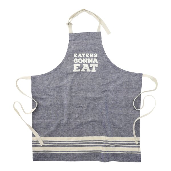 Eaters Gonna Eat Cotton Apron by Floor 9
