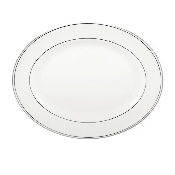 Federal Platinum Bone China Platter by Lenox