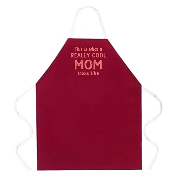 Really Cool Mom Apron by Attitude Aprons by L.A. Imprints