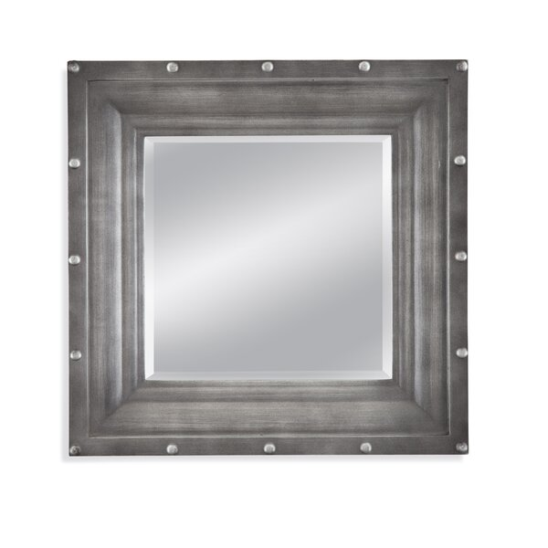 Industrial Square Wall Mirror by Trent Austin Design