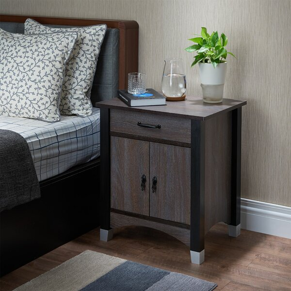 Danielburnham 1 Drawer Nightstand by Foundry Select Foundry Select