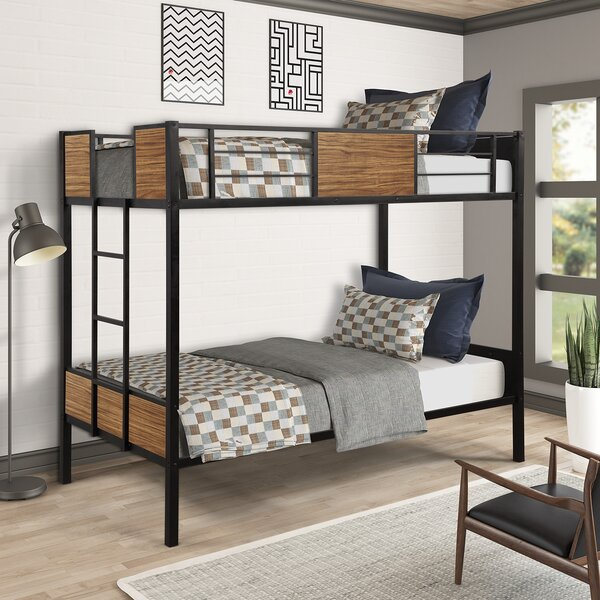 Mcdonnell Twin over Twin Bunk Loft Bed by Harriet Bee