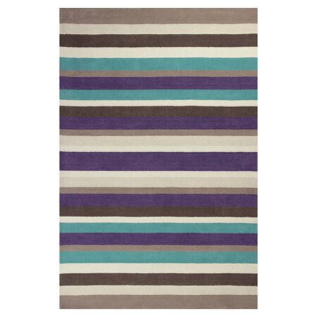 Cortes Horizon Striped Rug by Ebern Designs