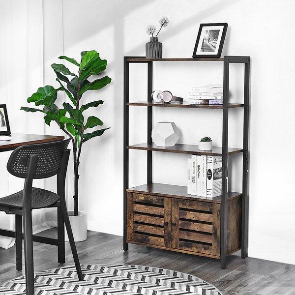 Merlene Industrial Storage Standard Bookcase By Gracie Oaks