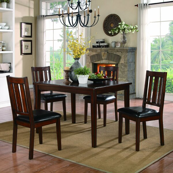 Mosely 5 Piece Dining Set by Woodhaven Hill