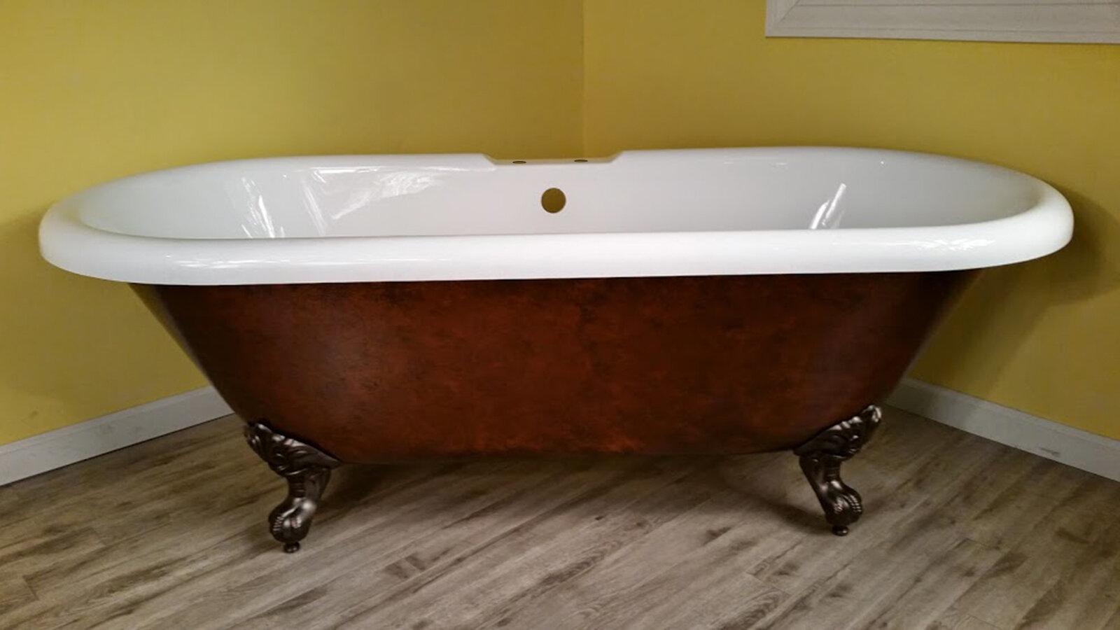 Cambridge Plumbing Acrylic Slipper Clawfoot 60 X 30 Freestanding Soaking Bathtub Wayfair