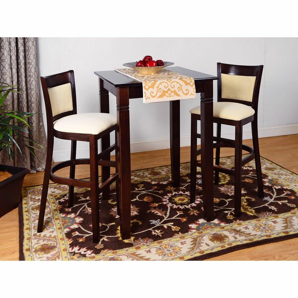 Iron Acton 3 Piece Pub Table Set by Winston Porter