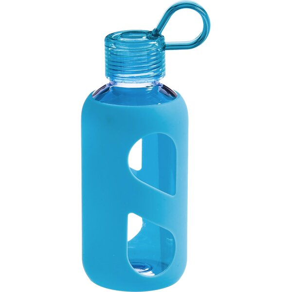 Silicone 16 oz. Plastic Water Bottle by Cypress Home