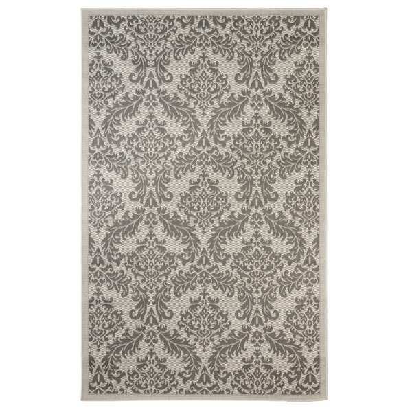 Dyar Gray Indoor/Outdoor Area Rug by Astoria Grand