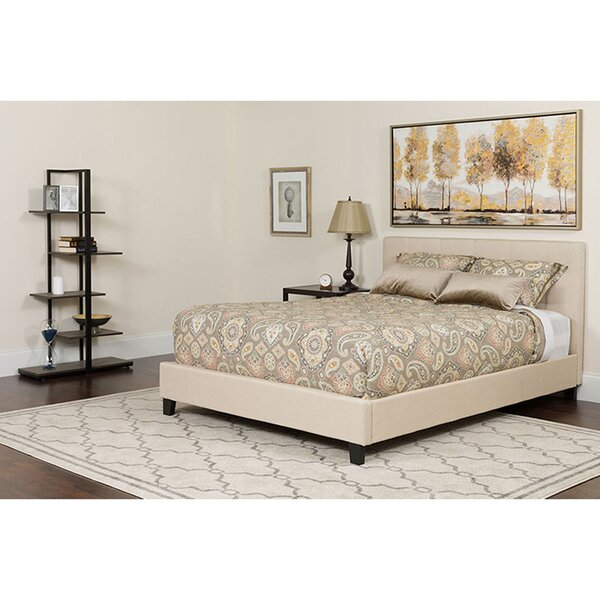 Peregrine Twin Upholstered Platform Bed by Winston Porter