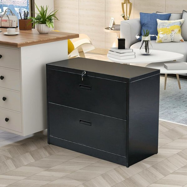 Office 2-Drawer Lateral Filing Cabinet