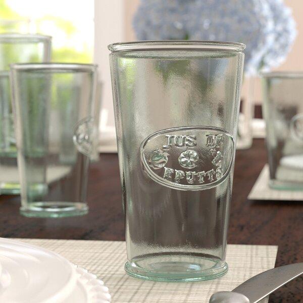 Cartensen 11 oz. De Fruit Glass (Set of 6) by Three Posts