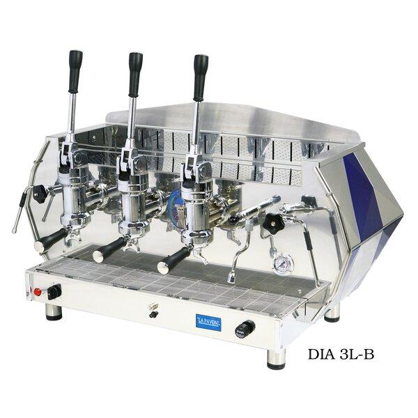 La Pavoni Diamente Lever Coffee & Espresso Maker by Isomac
