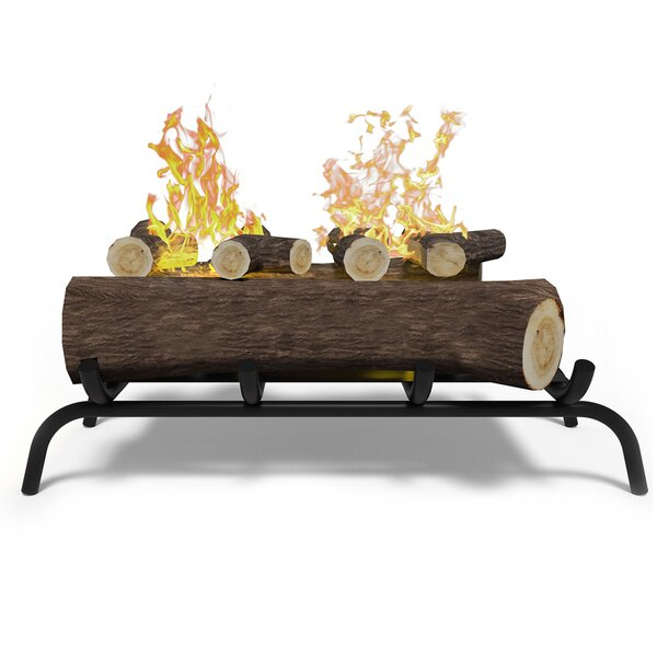 Convert to Ethanol Fireplace Log Set with Burner Insert from Gel or Gas Logs by Regal Flame