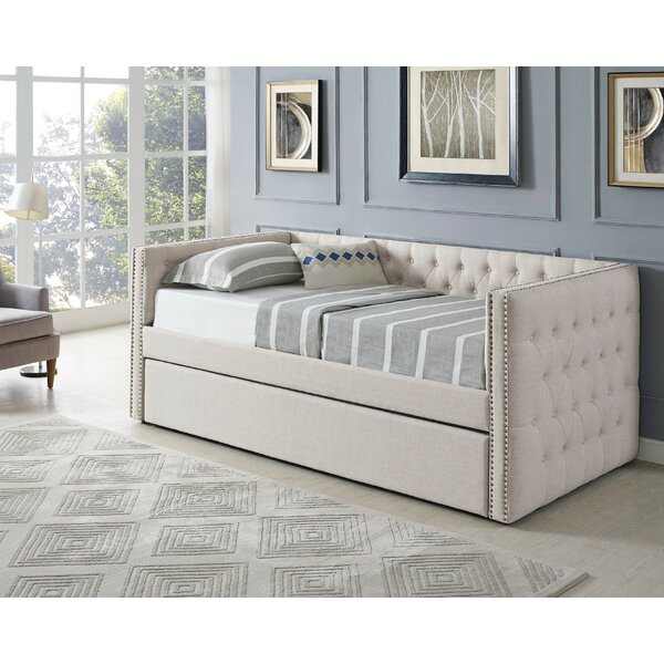 Clark Twin Daybed with Trundle by Alcott Hill