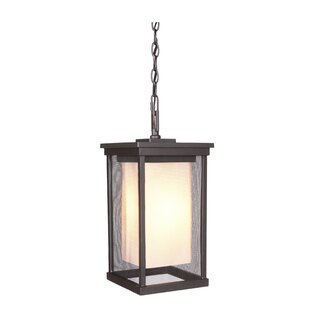 Find the perfect Oakhill 1-Light Outdoor Hanging Lantern By Charlton Home