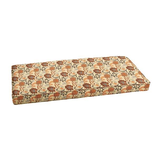 Indoor/Outdoor Sunbrella Bench Cushion by Fleur De Lis Living