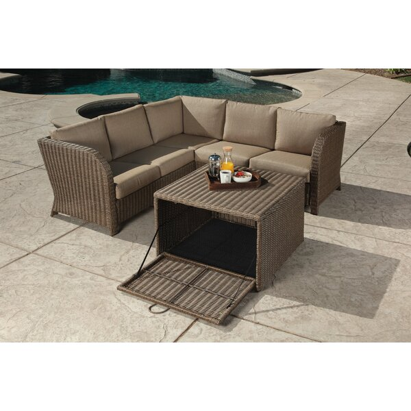 Zeigler 2 Piece Seating Group with Cushions by Bayou Breeze