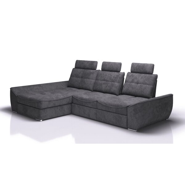 Review Rosnov Left Hand Facing Sleeper Sectional