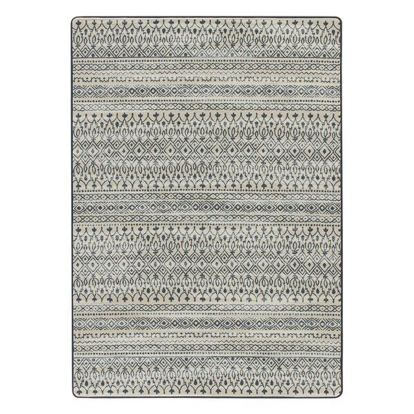 Tate Blue/Beige Area Rug by Bungalow Rose