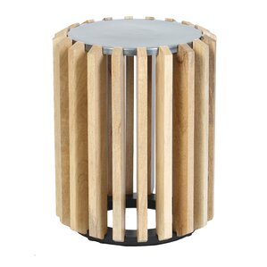 Drum End Table by Knox & Harrison