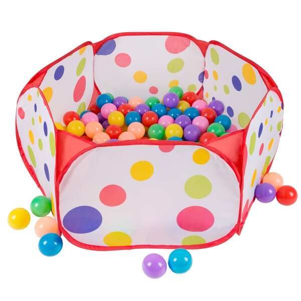 Ball Pit Pop-Up Play Tent with Carrying Bag by Hey