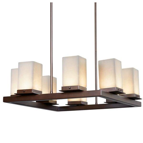 Lejeune 8-Light LED Outdoor Chandelier W001441343