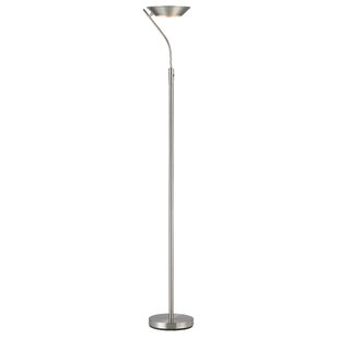 Best Price Saturn 71 LED Torchiere Floor Lamp By Adesso