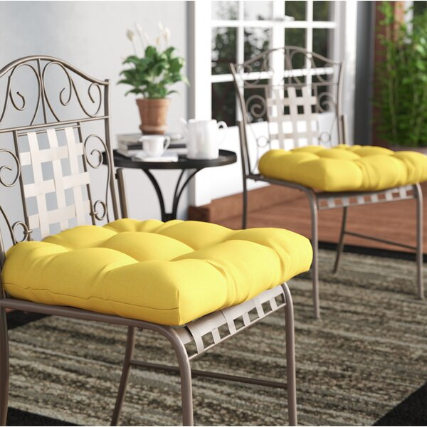Claiborne Indoor/Outdoor Dining Chair Cushion (Set of 2) by Darby Home Co