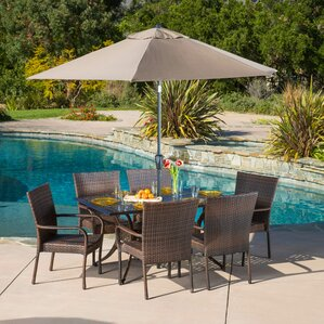 Patio Furniture Dining Sets patio dining sets you'll love | wayfair