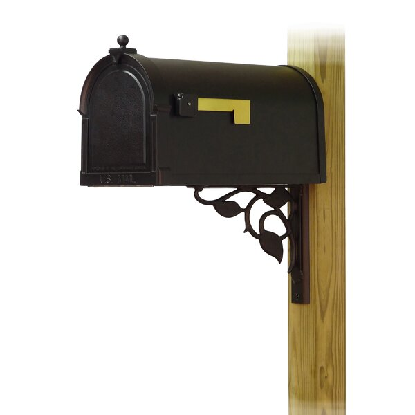 Berkshire Curbside Post Mounted Mailbox by Special Lite Products