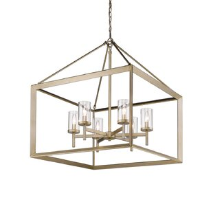 Price Check Thorne 6-Light Foyer Pendant By Three Posts