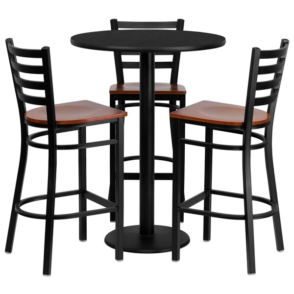 Abrar 4 Piece Pub Table Set by Red Barrel Studio