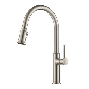 Sellette Pull Down Single Handle Kitchen Faucet ByKraus