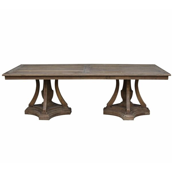 Karly Solid Wood Dining Table by One Allium Way