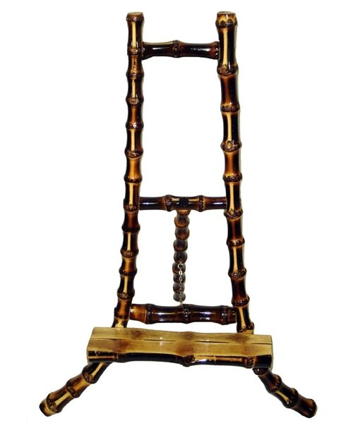 Josephine Bamboo Root H-Frame Easel by Beachcrest Home