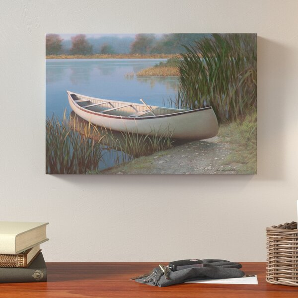 On The Lake Photographic Print on Wrapped Canvas by Loon Peak