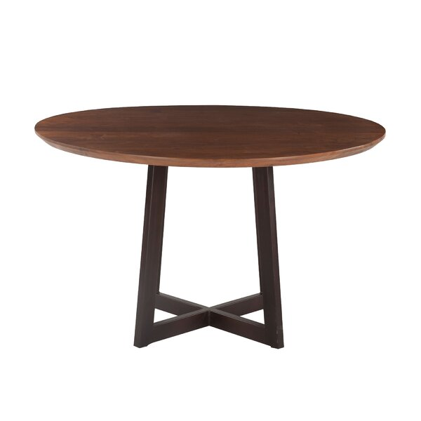 Clapp Acacia Wood Dining Table by Gracie Oaks