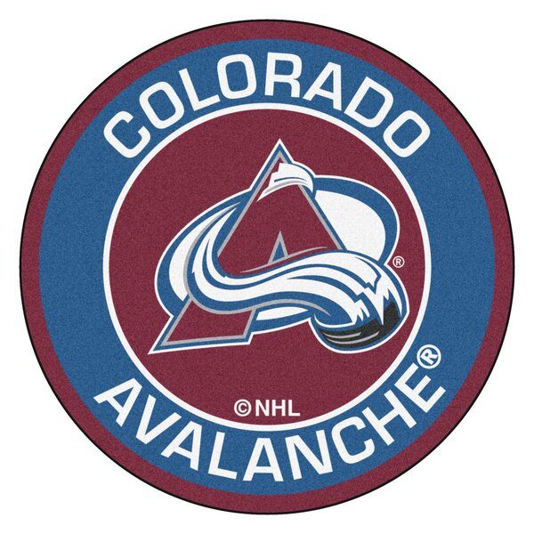 NHL Colorado Avalanche Roundel Mat by FANMATS