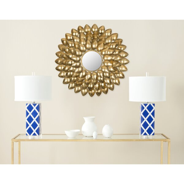 Sunburst Accent Mirror by Willa Arlo Interiors