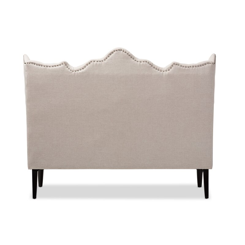 Wholesale Interiors Baxton Studio Samantha 65 Tufted Settee Bench Reviews Wayfair