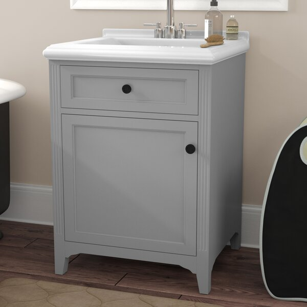 Gerson 25 Single Bathroom Vanity Set by Three Post