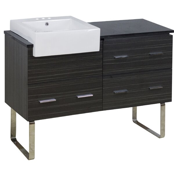 Batterton 49 Single Bathroom Vanity Set by Orren Ellis