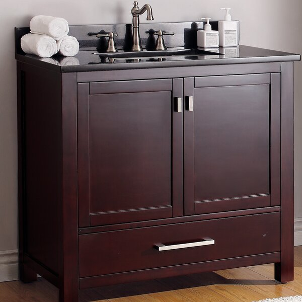 Knobel 37 Single Bathroom Vanity Set by Charlton Home