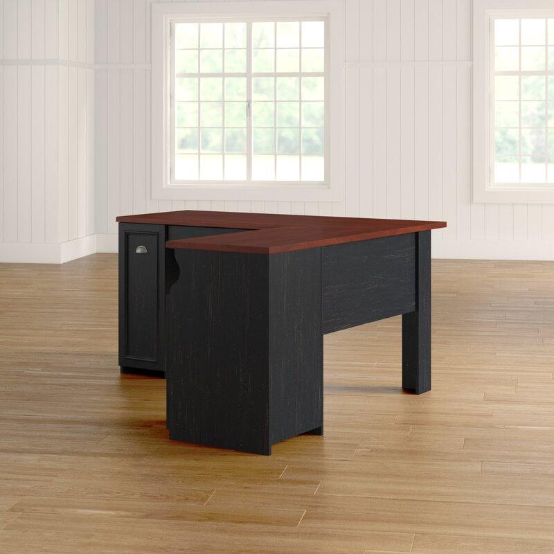 Oakridge L Shaped Computer Desk Amp Reviews Birch Lane